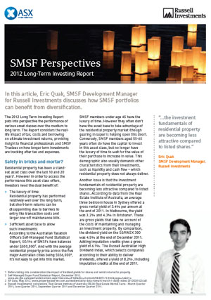 SMSF Perspective of ASX